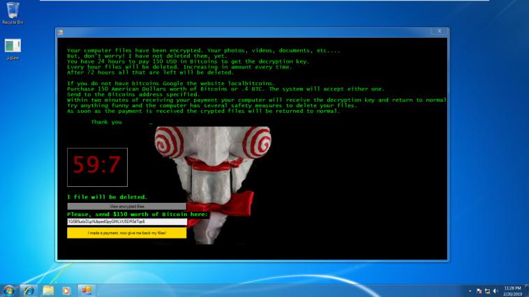 Jigsaw Malware
